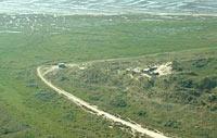 Juist, Blickrichtung von Norden nach Süden, Sandhaken an der Ostseite